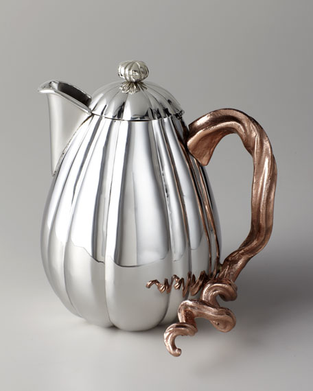 """Gourd & Vine"" Hot Beverage Pot"