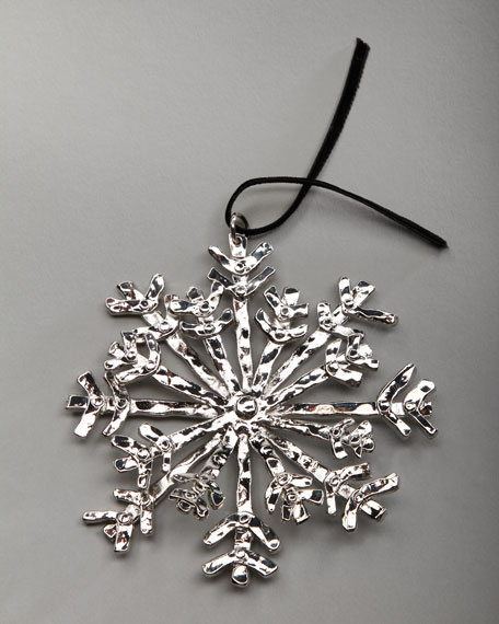 """Forged Snowflake"" Christmas Ornament"