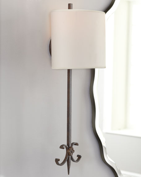 """""""Roswell"""" Sconce"""