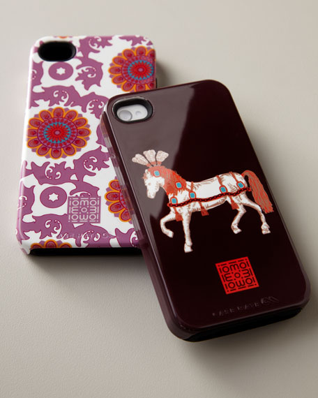 Patterned iPhone 4/4s Case