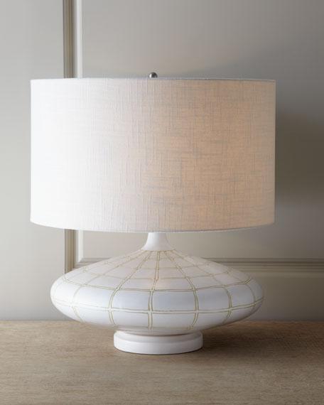 "Ivory ""Onion"" Lamp"