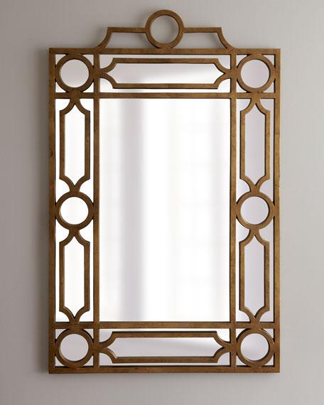 "Golden ""Pagoda"" Mirror"