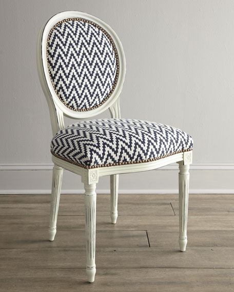 """Kuddos"" Chevron Chair"