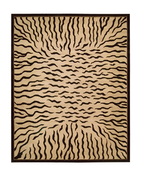 "Tiger Stripe Rug, 3'6"" x 5'6"""