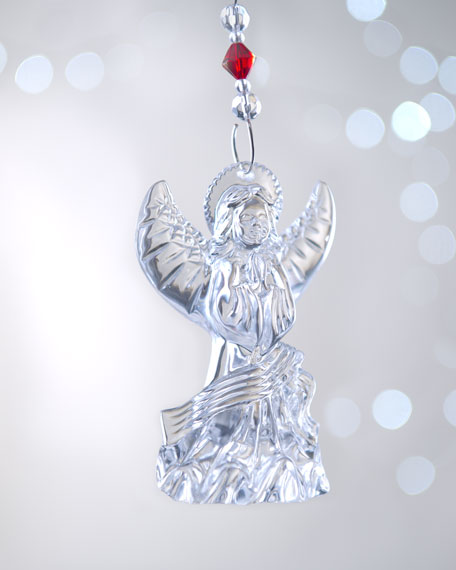 "2012 ""Lismore Angel"" Christmas Ornament"