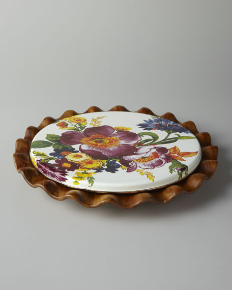 """Flower Market"" Lazy Susan"