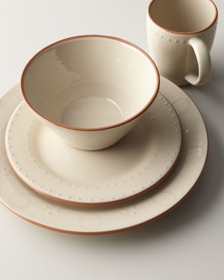 "16-Piece ""Terra-Cotta"" Dinnerware"