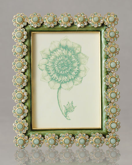 "Fern ""Flower Gemstone"" Photo Frame"