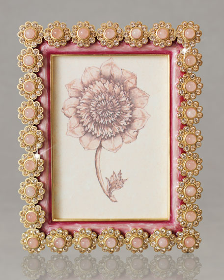 "Azalea ""Flower Gemstone"" Photo Frame"