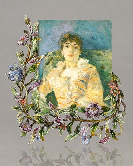 """""""Vine & Floral"""" Frame"""
