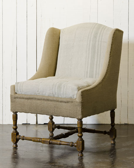 French-Style Hearth Chair