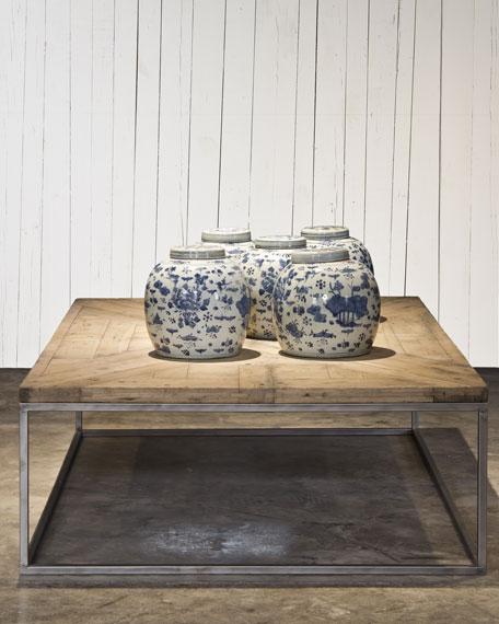 ralph lauren home parquet ancien coffee table. Black Bedroom Furniture Sets. Home Design Ideas