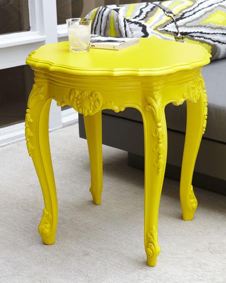 Outdoor Baroque Side Table
