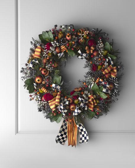 """""""Farmhouse"""" Wreath"""