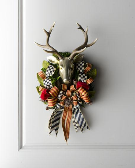 Stag Deer-Head Wreath