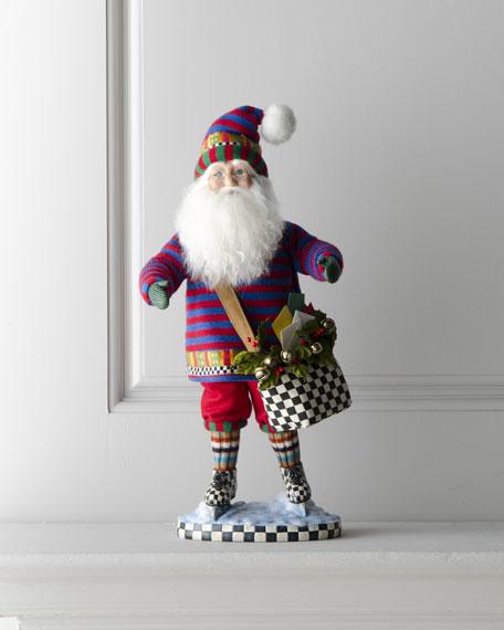 Skating Santa Claus