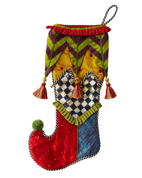 """Court Jester"" Stocking"