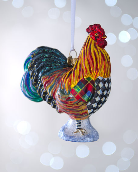 """Rooster"" Christmas Ornament"