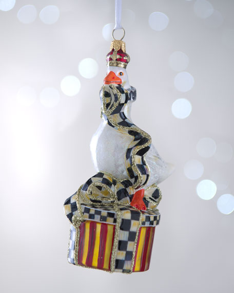 """Simon the Goose"" Christmas Ornament"