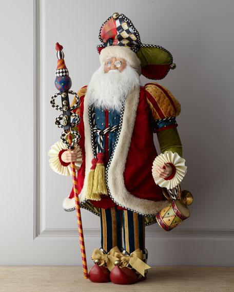 """Jester"" Santa Claus"