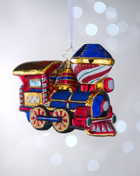 """""""Chugga-Chugga Woo-Woo"""" Christmas Ornament"""