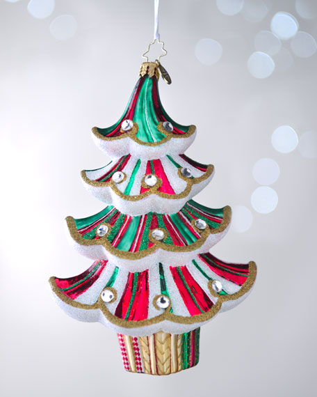 """Spiral Spruce"" Christmas Ornament"
