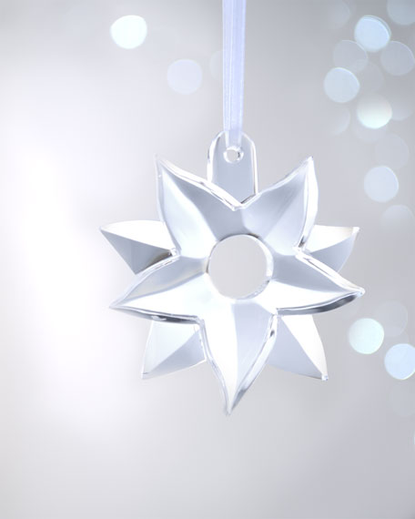 """Poinsettia"" Christmas Ornament"