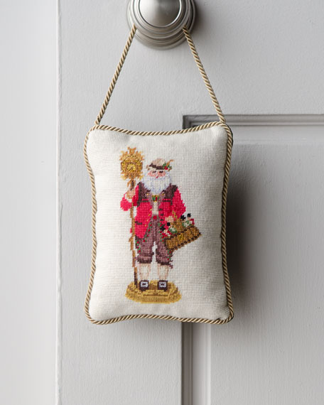 """German Santa"" Door Hanger"