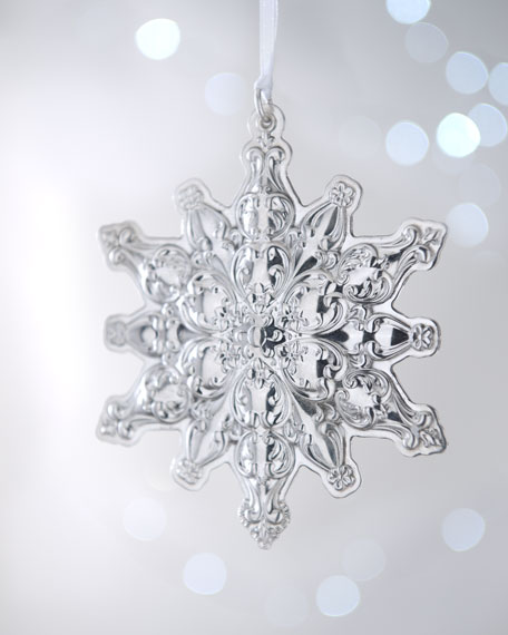 "2012  ""Old Master"" Snowflake Christmas Ornament"