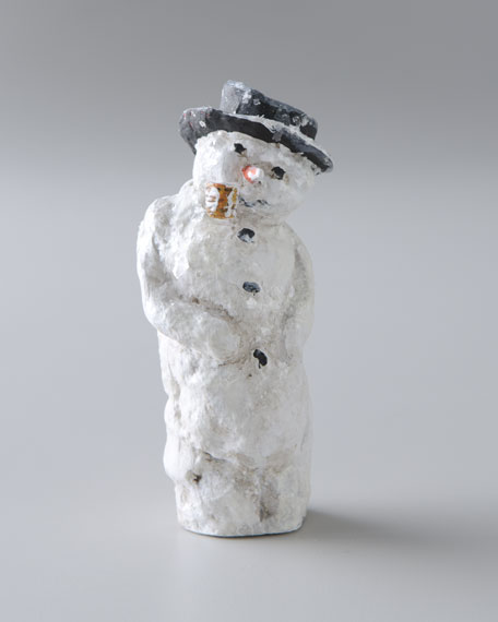 """Merry Old Snowman"" Christmas Figure"