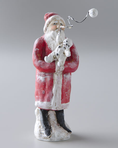 """A Toy for Snowman Friends""  Christmas Figure"