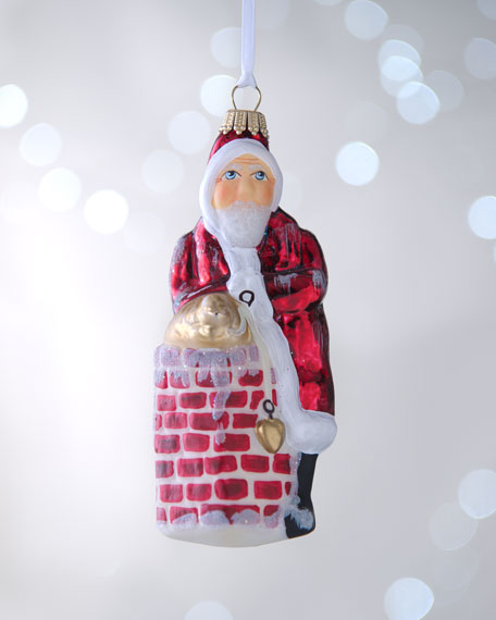 """Down-the-Chimney"" Christmas Ornament"