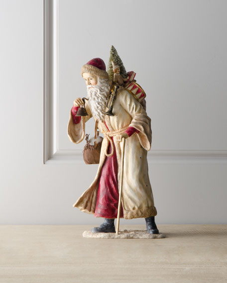 """Old Father Christmas"" Figurine"