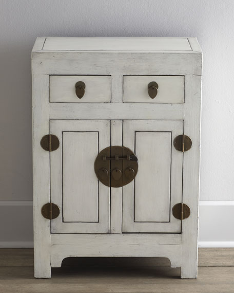 Antique White Cabinet