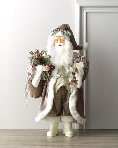 """""""Silver Sage"""" Santa Claus"""