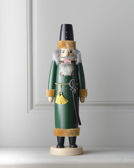 """Bojar"" Green Nutcracker"