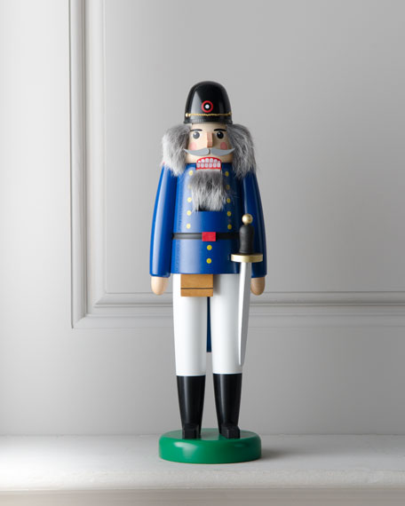 Blue Soldier Nutcracker