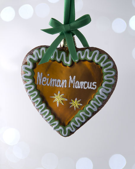 """Gingerbread Heart"" Ornament"