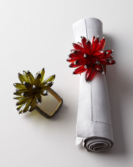 Four Constellation Napkin Rings
