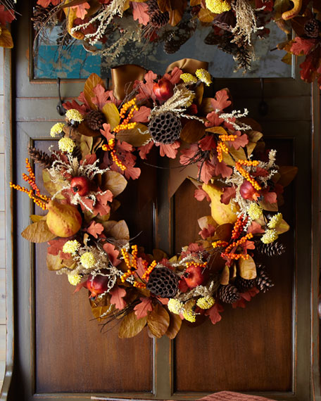 """Harvest"" Wreath"