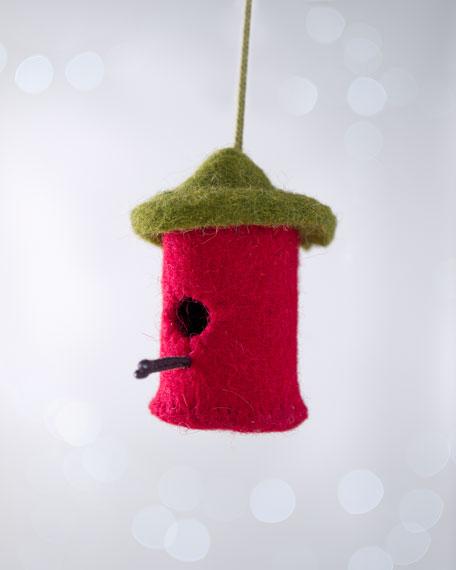 """Artisan"" Birdhouse Christmas Ornament"