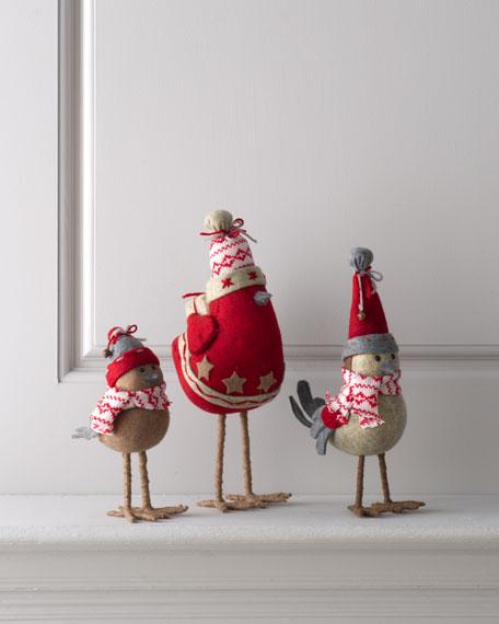"""""""Artisan"""" Christmas Birds"""