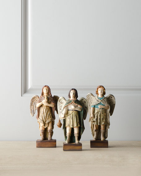 Three Saints Figurines