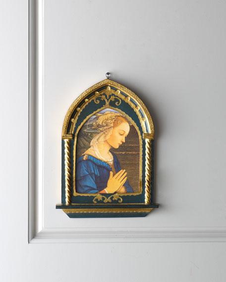 Praying Madonna Print