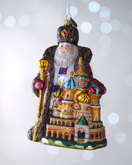 """Russian Santa"" Christmas Ornament"