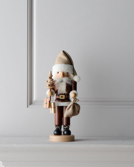 Nutcracker Santa in Natural