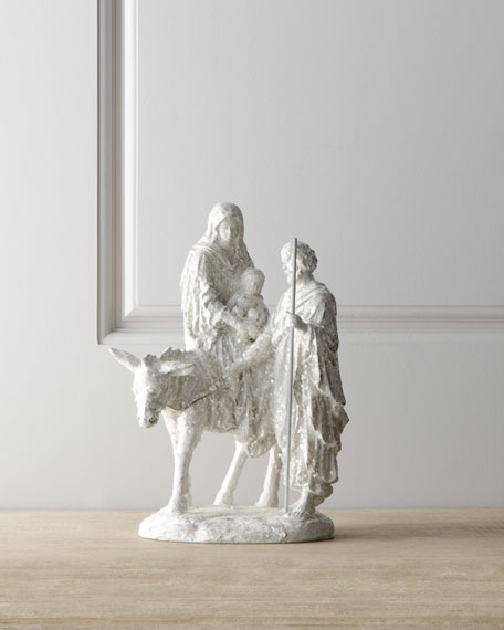 """Joyeux Noel"" Nativity Figure"