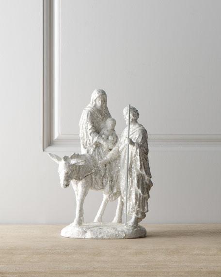 """Joyeux Noel"" Nativity Figure"