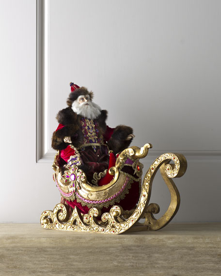 """Bolshoi"" Santa and Sleigh"