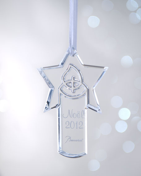 """Candle"" 2012 Annual Christmas Ornament"